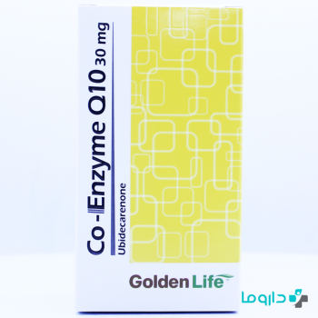 co-enzyme q10 30mg golden life 60 tablets